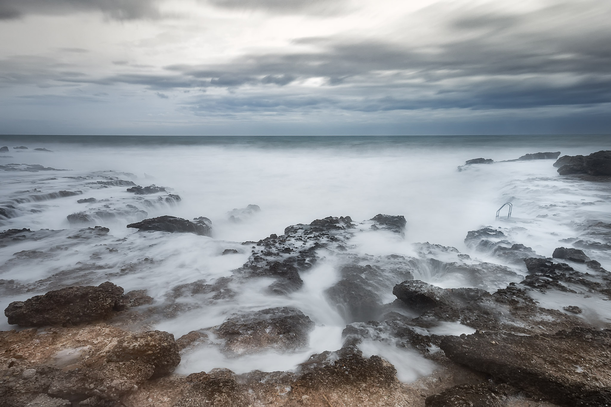 Paisaje de Bufadors, costa de Tarragona, marejada, larga exposición, canon 6D,Danilatorre,danilatorre, Dani Latorre, daniel Latorre
