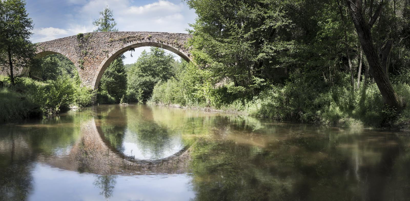 Fotografía de paisaje Puente Malafogassa, panorámica, Vilanova de Sau. Canon 6D,Danilatorre,danilatorre, Dani Latorre, daniel Latorre