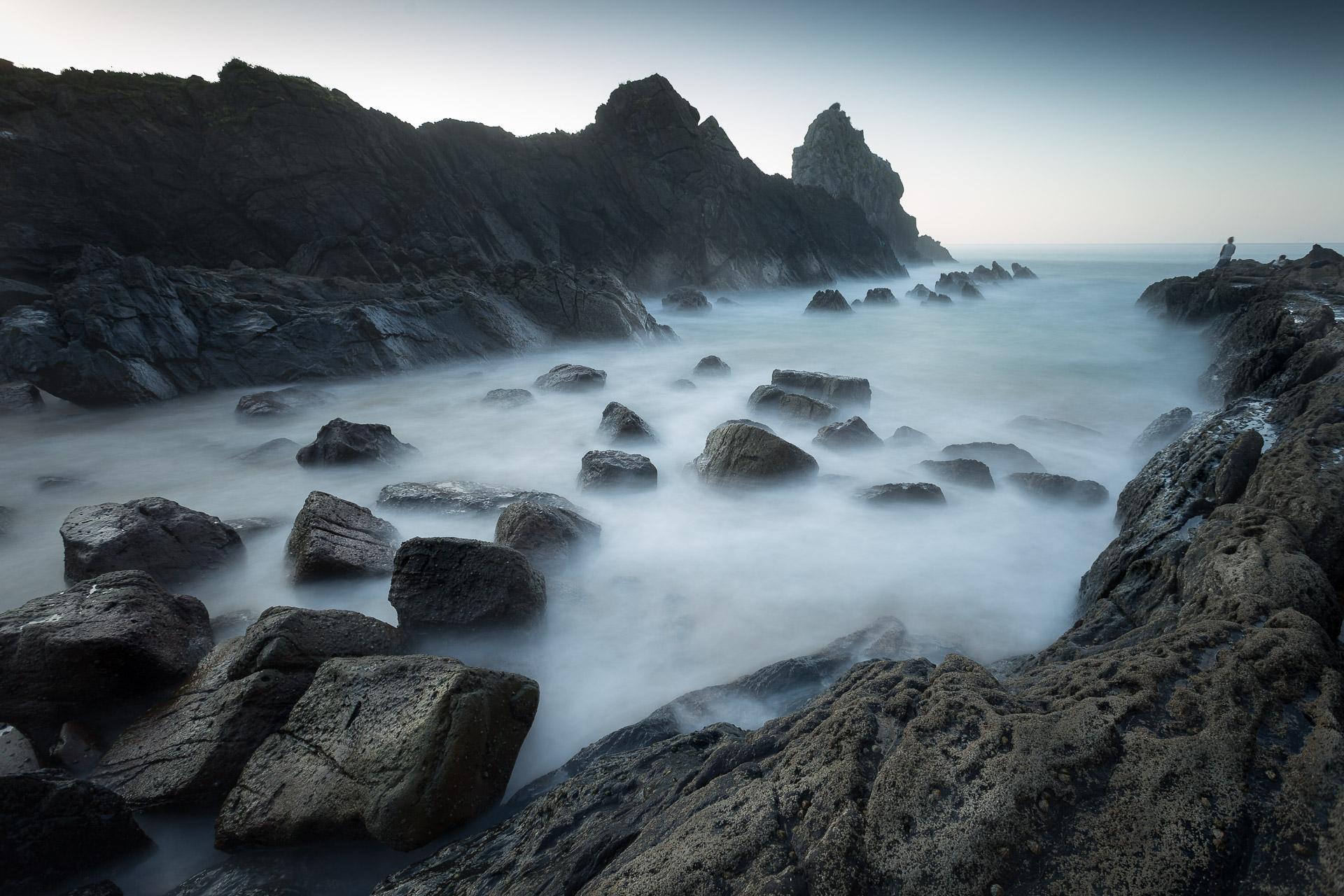 Fotografía de paisaje Playa de Laga,larga exposición, canon 6D,Danilatorre,danilatorre, Dani Latorre, daniel Latorre