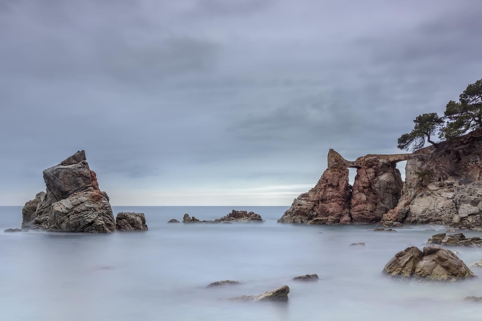 Fotografía Paisaje Cala Frares Lloret de mar, Larga exposición, Canon 60D,Danilatorre,danilatorre, Dani Latorre, daniel Latorre