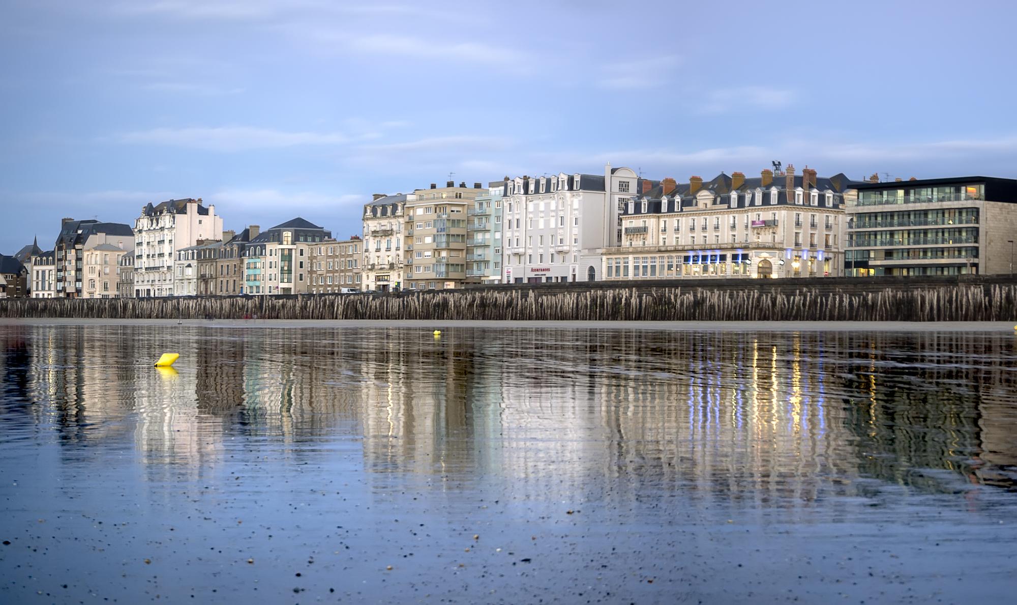 Fotografía de paisaje Saint Malo reflejo. Panoramica, Larga exposicion, Canon 6D, filtros Nisi,Lucroit, Trípode Rollei,Danilatorre,danilatorre, Dani Latorre, daniel Latorre
